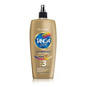Aceite Bronceador Sun Active Defense Tanga X 250ml