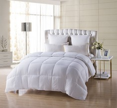 Edredón - Down Alternative Comforter (Blanco, King)