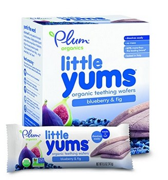 PLUM ORGANICS LITTLE YUMS